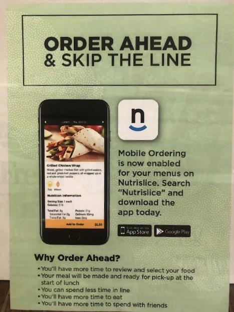 School Lunch - Order Ahead & Skip the Line