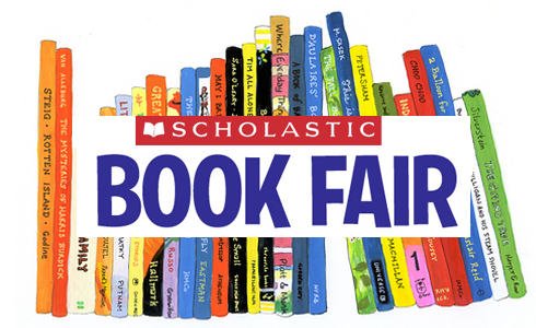 BOOK FAIR is coming!  Click here to find out more!